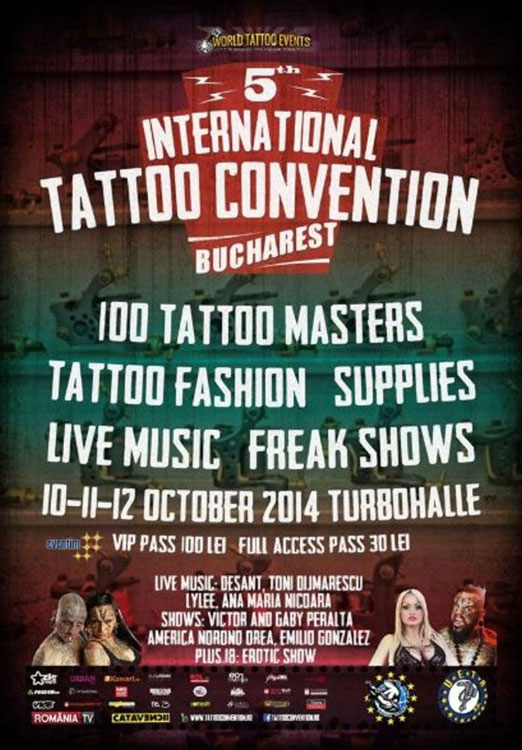 International Tattoo Convention Bucharest 2014