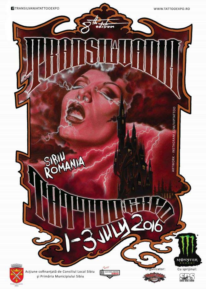 Transilvania Tattoo Expo 2016