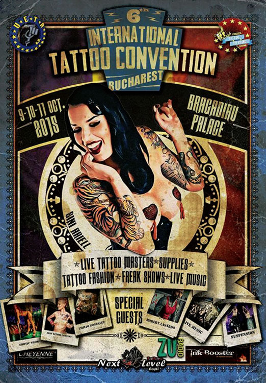 International Tattoo Convention Bucharest 2015