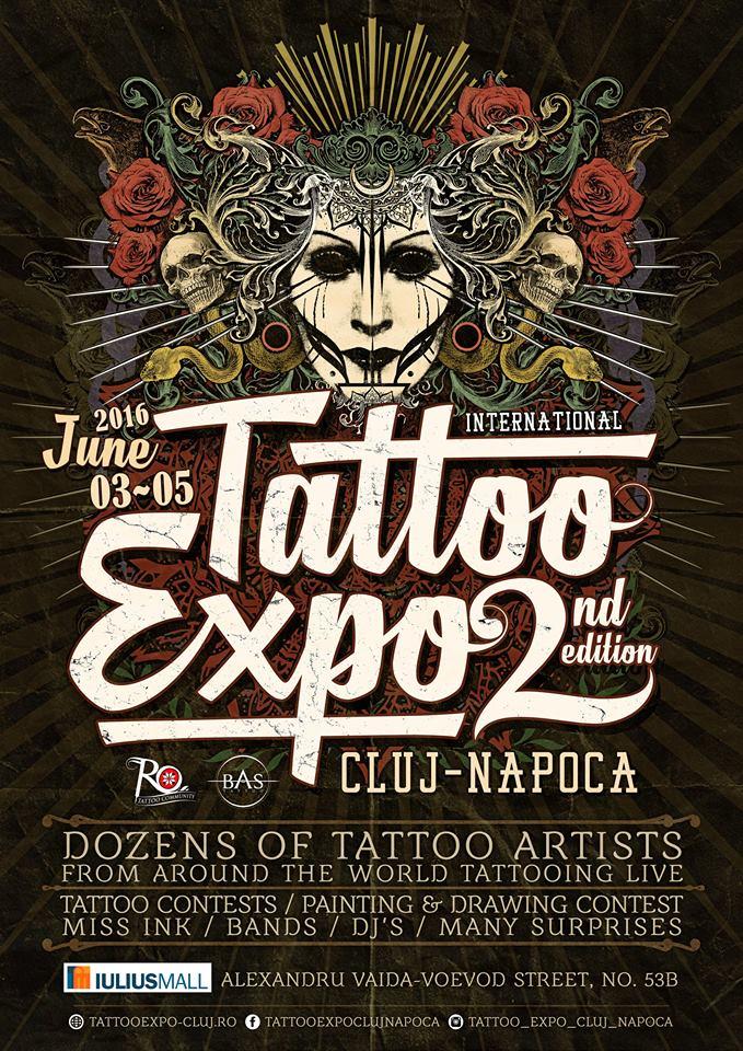Tattoo Expo Cluj-Napoca 2016